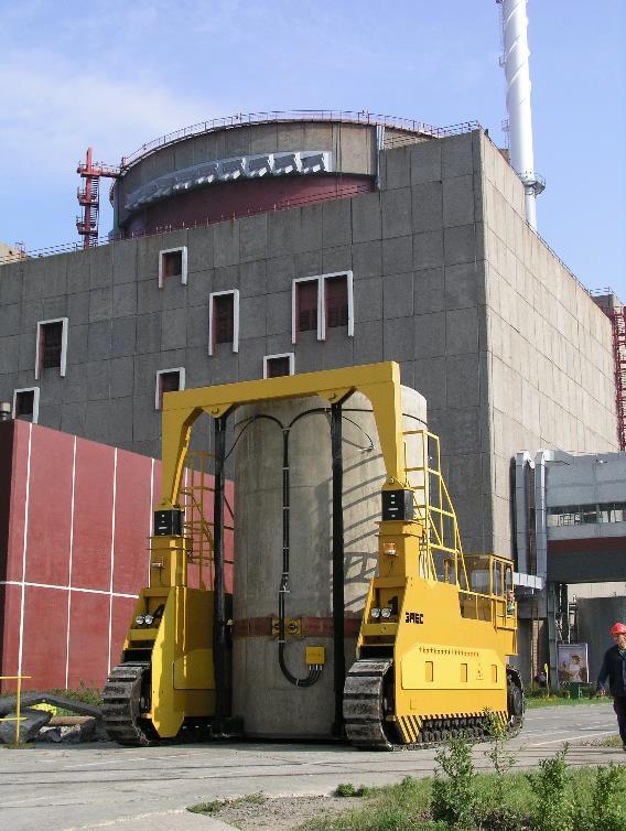 транспортирование контейнера СХОЯТ