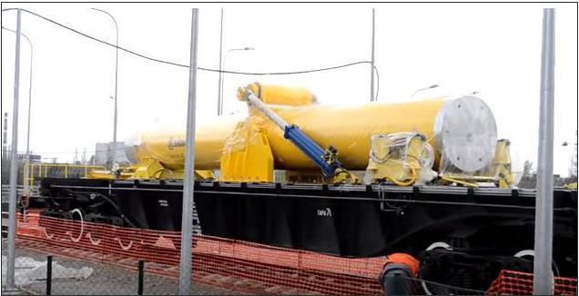 вагон-контейнер для перевозки ОЯТ