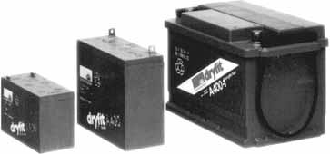 Внешний вид аккумуляторов «dryfit»