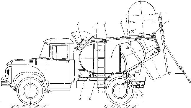 Автобетоновоз СБ-113А