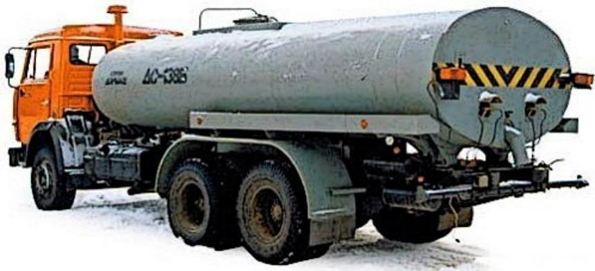 Автобитумовоз ДС-138Б на шасси КАМАЗ-65115