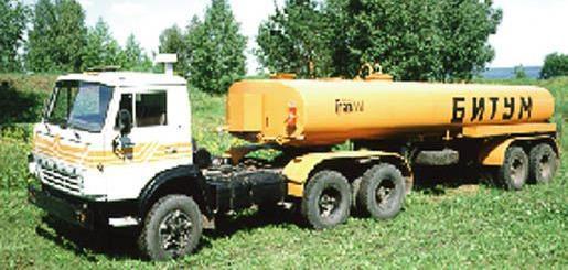 Автоцистерны для перевозки битума