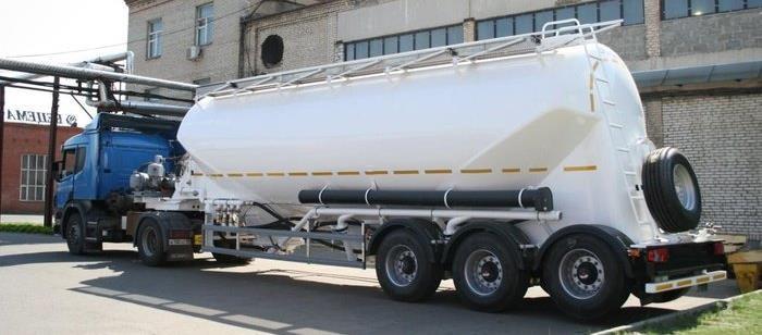 Автоцистерны для перевозки сыпучих грузов