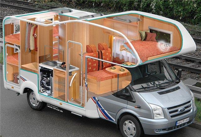 Автомобиль-фургон вагонного типа