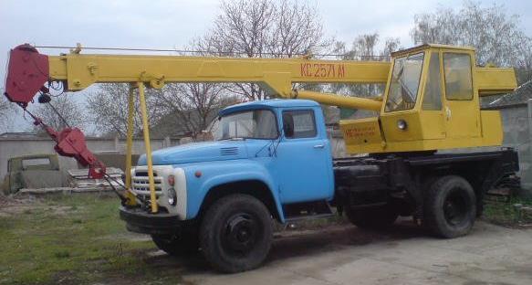 Автомобильный кран КС-2571А