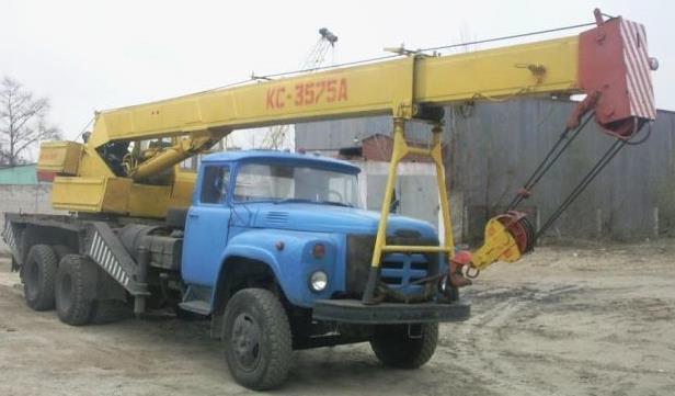 Автомобильный кран КС-3575А