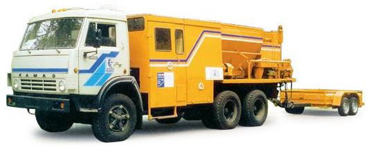 Дорожный ремонтер ЭД-105.1 на шасси КамАЗ-65115