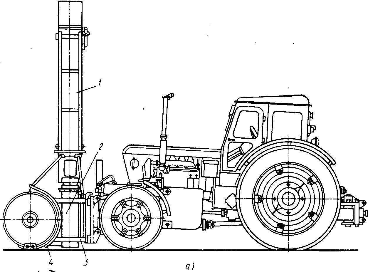 Фрезерно-роторный снегоочиститель КО-705