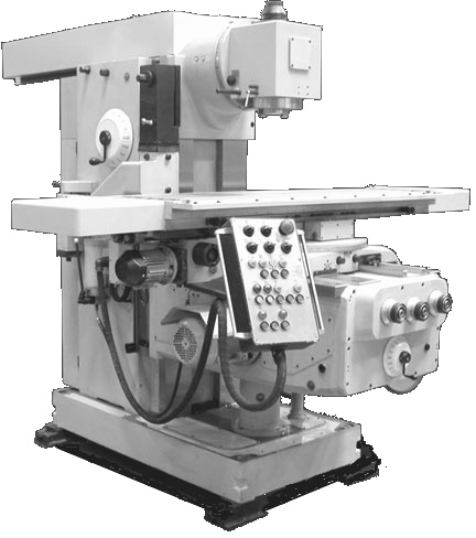 Горизонтальный консольно-фрезерный станок FU350R