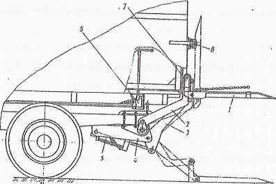 Грузоподъемный борт АПС 62Ф для автомобиля-фургона ГЗСА-891
