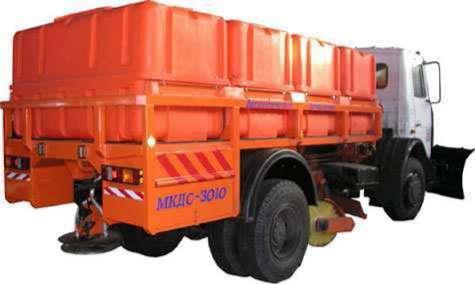 Комбинированная дорожная машина МКДС-3010