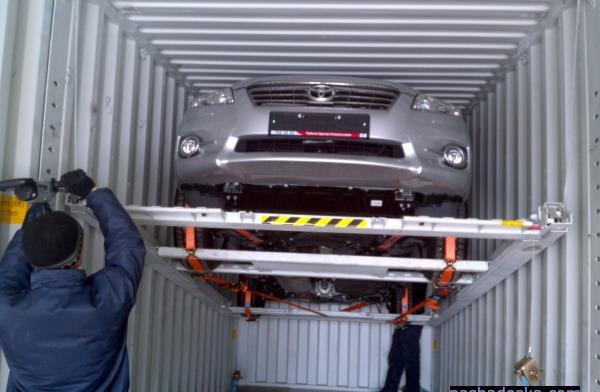 Контейнер для перевозки автомобилей