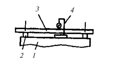 Контроль отклонения от плоскостности рабочей поверхности стола