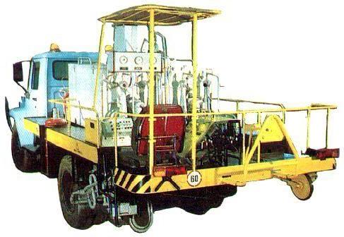 Маркировочная машина ДЭ-21М с оборудованием для нанесения термопластика