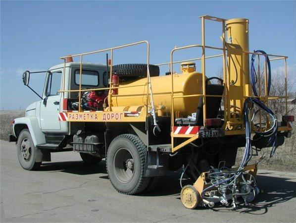 Маркировочная машина ДЭ-21М с оборудованием для нанесения красок