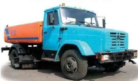 Поливочно-моечная машина КО-713 на шасси ЗИЛ-4333