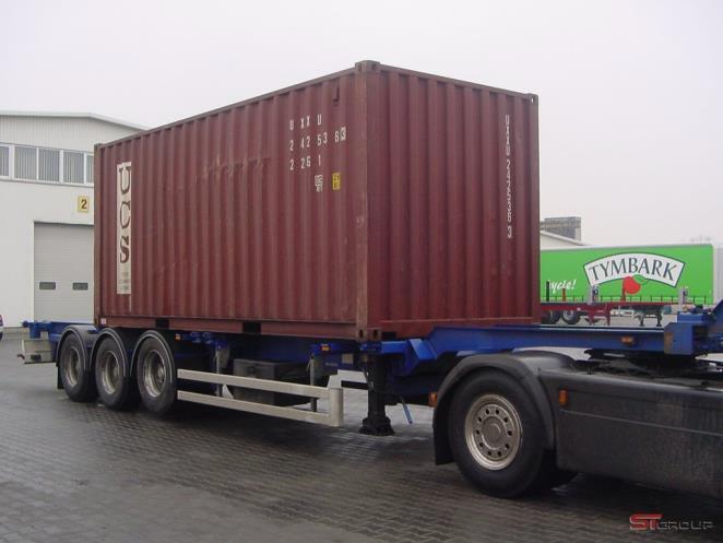 Полуприцеп-контейнеровоз