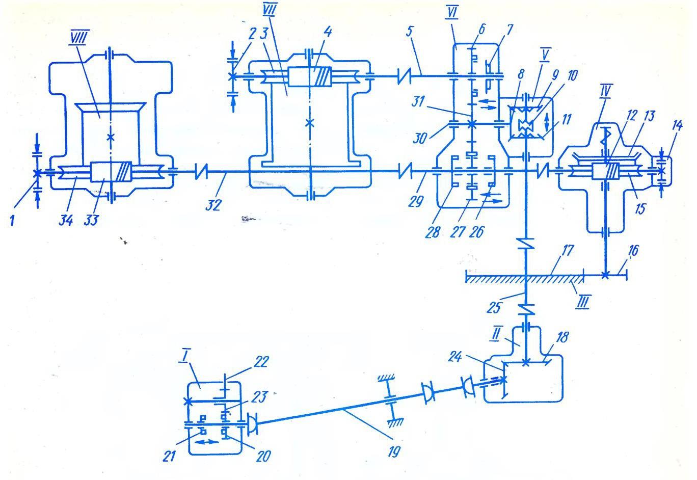 схема автокранов КС-2561Д