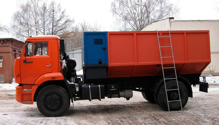 Снегоплавильная машина УМС-М1000