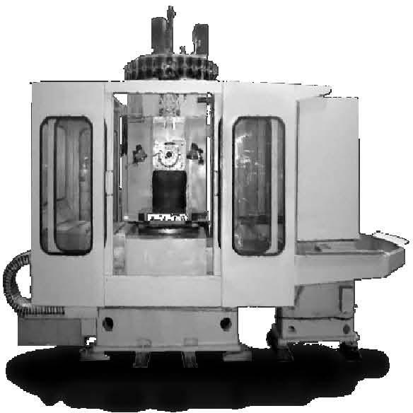 Вертикальный консольно-фрезерный станок с ПУ модели FSS400CNC