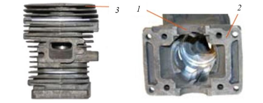 Цилиндр двигателя