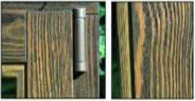 Деревянные детали после искусственного старения