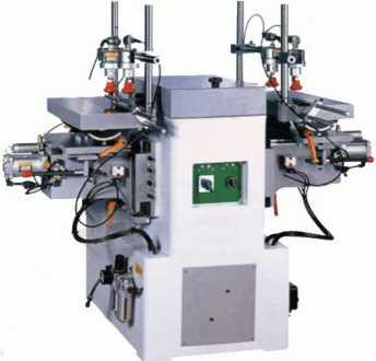 Двухшпиндельный пазовальный станок-полуавтомат MS3112