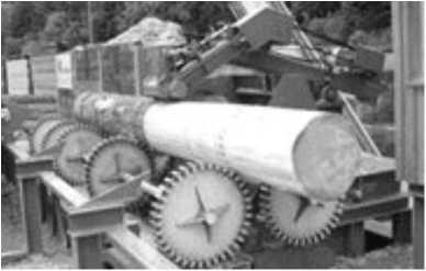 Фрезерно-окорочный станок SEM-800