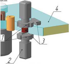 Фрезерный модуль для снятия свесов