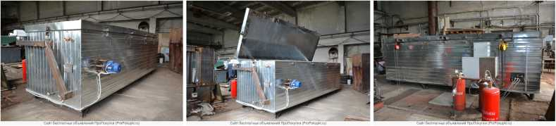 Камера для сушки и термомодификации древесины ТМ-мини