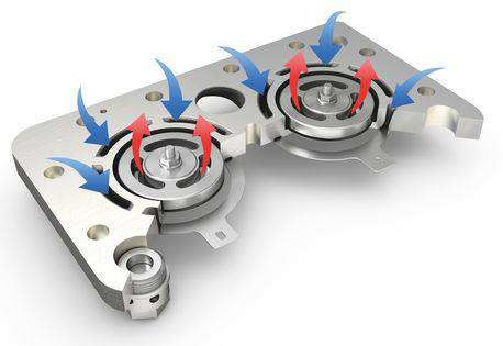 Кольцевые клапаны на клапанной доске