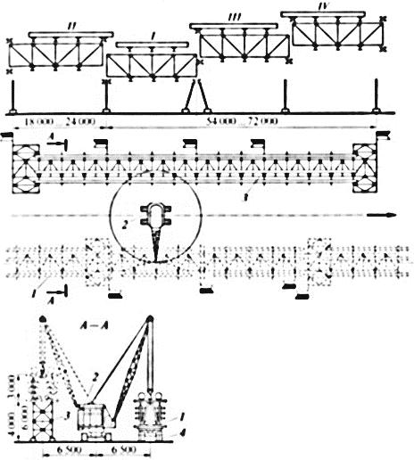 Комбинированные блоки на металлической ферментированной эстакаде монтажная схема