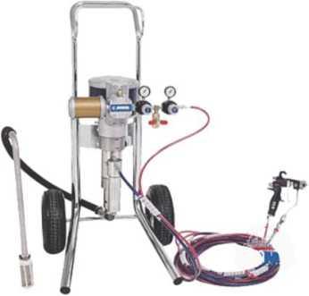 Комплект для комбинированного распыления ЛКМ
