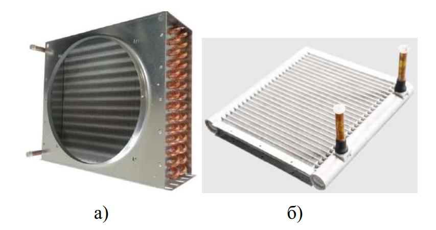 Конструкции конденсаторов воздушного охлаждения
