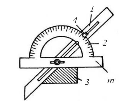 Конструкция простого угломера