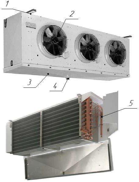 Конструкция воздухоохладителя