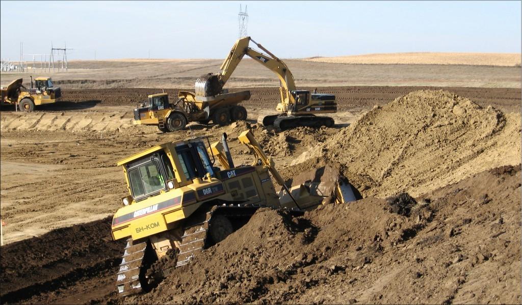 механизация земляных работ
