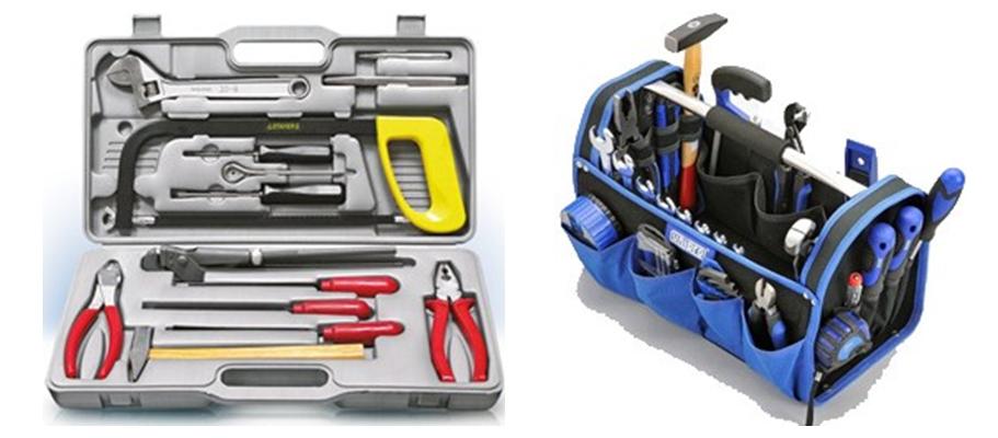 Наборы слесарных инструментов