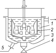 Низкотемпературный кристаллизатор периодического действия
