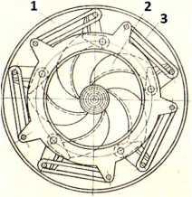 ножевой ротор окорочного станка ОК