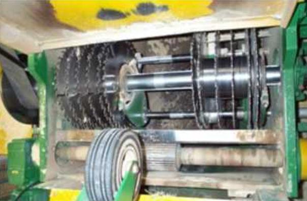 Пильный вал обрезного станка HIT ASM 130