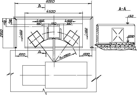Площадка с тремя контейнерами
