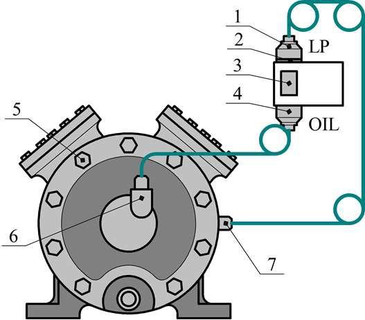 Подключение РКС к компрессору