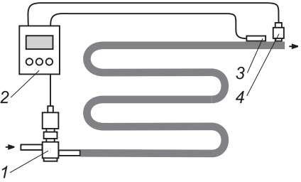 Положение установки электронного расширительного вентиля