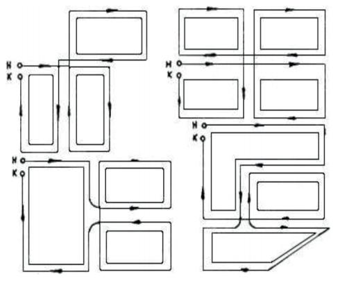 Пример прохождения маршрутов