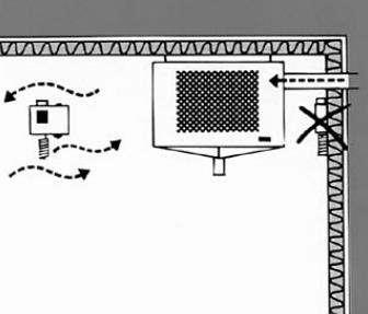 Расположение термостата в камере