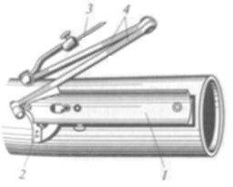 Разметка труб шарнирное устройство
