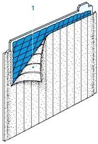 Сепаратор-конверт из полиэтилена