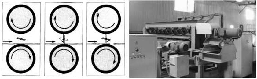 Схема работы и общий вид ножниц НПН-1805