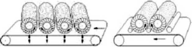 Схема работы щеточных станков фирмы Paul Ernst